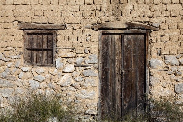 Πρόσοψη παλιού σπιτιού