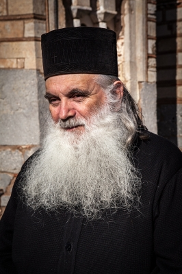 Αρχιμανδρίτης Νεκτάριος Αντωνόπουλος, ηγούμενος της Ι. Μονής Σαγματά.