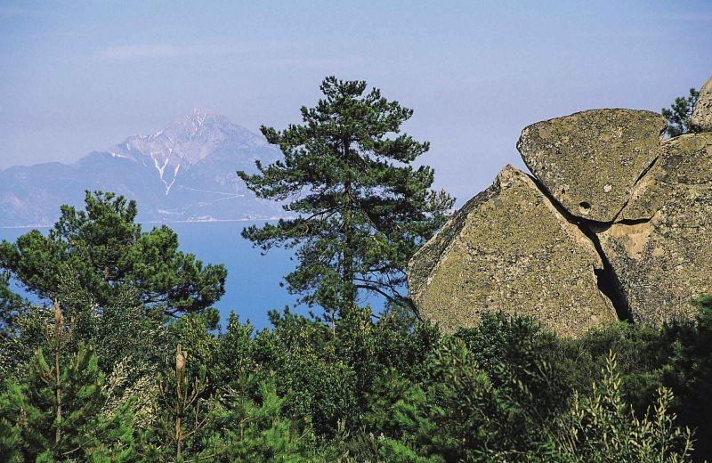 Ορεινή διάσχιση  Κασσάνδρας  Χαλκιδικής