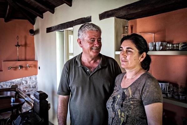 Νάσος Σμέρδης και η Άννα.