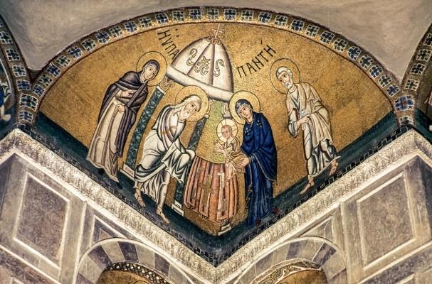 Ψηφιδωτό της Βάπτισης 11ου αιώνα