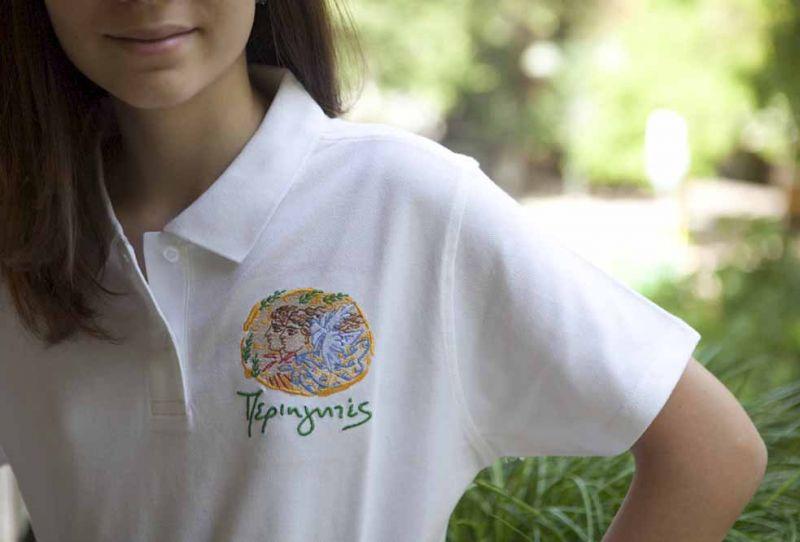Γυναικείο Μπλουζάκι Polo-Λευκό