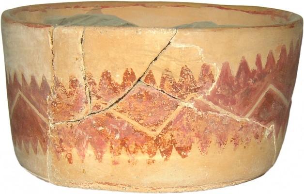 Γραπτό αγγείο, Μέση Νεολιθική.