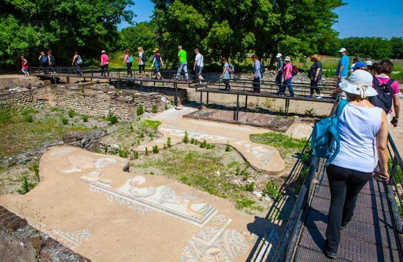 Αρχαιολογικός χώρος του Δίον και πεζοπορία στο Φαράγγι του Ορλιά