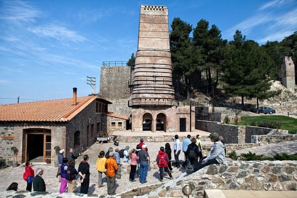 Ξενάγηση των Ελλήνων Περιηγητών στους χώρους του KAMINOS RESORT