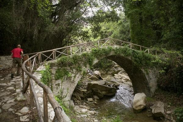 Το πέτρινο γεφυράκι των Ανδρονιάνων