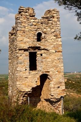 Ο δεύτερος πύργος στο Κάστρο του Ποταμού από τα δυτικά