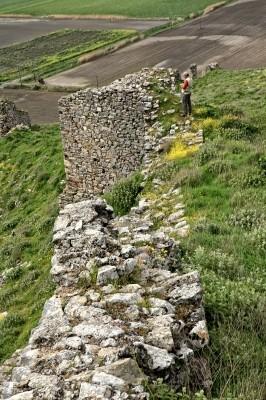 Το κάστρο στο Καστρί Αγιάς
