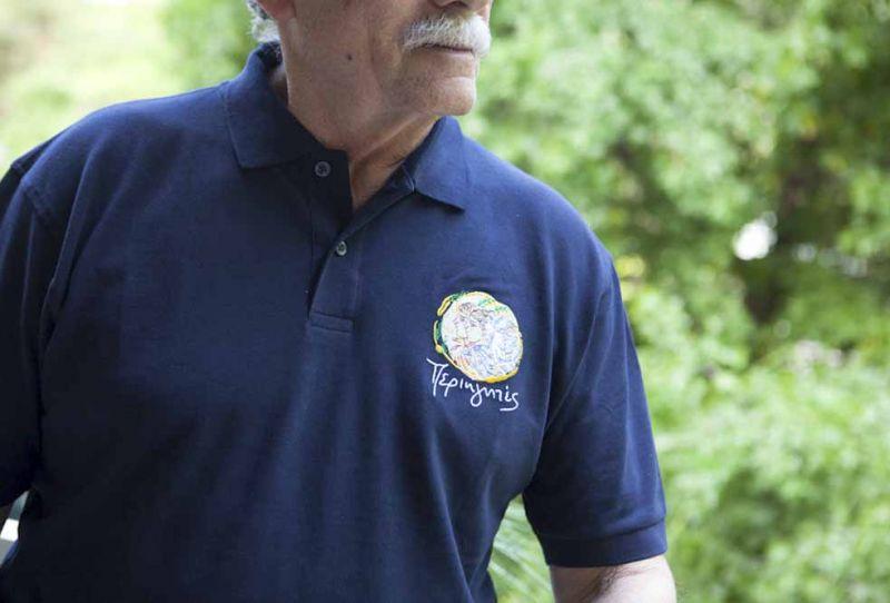 Αντρικό Μπλουζάκι Polo-Μπλε