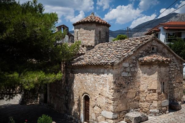 Μεταβυζαντινός ναός της Κοίμησεως της Θεοτόκου