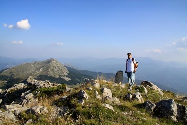 Η κορυφή της Πάνω Αρένας.