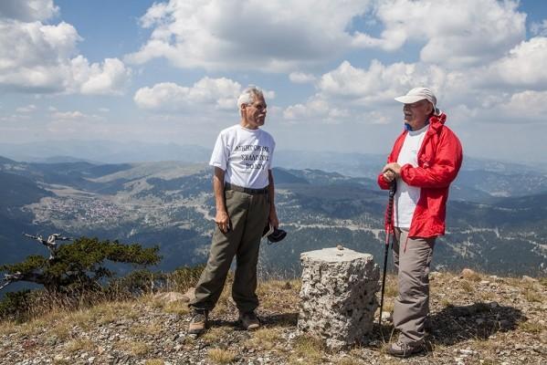 Κορυφή Γομάρας 2.126 μ.