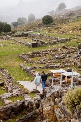 Περιήγηση στον χώρο της Αρχαίας Ελέας