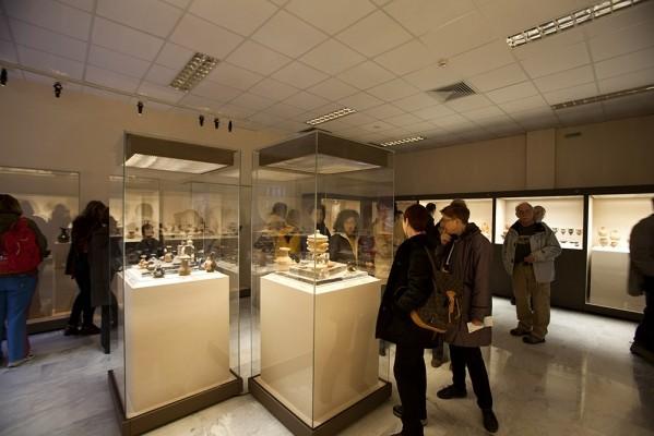 Εσωτερικό του Αρχαιολογικού Μουσείου
