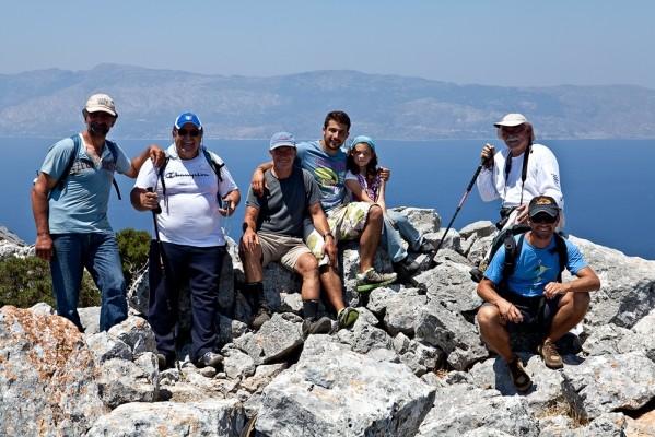 13 Ιουλίου 2011. Η ομάδα στην κορυφή του Πάππα.