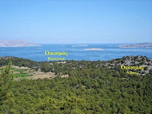 Θέσεις των αρχαίων οικισμών.