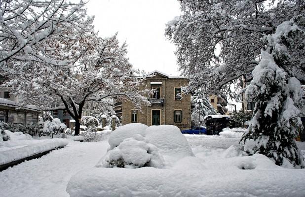 Ονειρικές εικόνες μετά την πρόσφατη χιονόπτωση του Φλεβάρη.