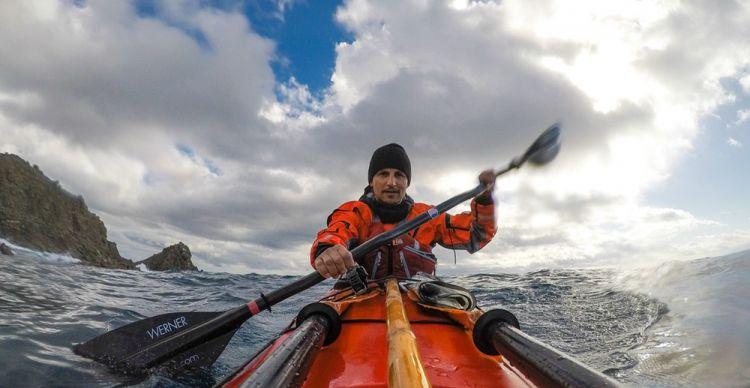 Χειμερινός περίπλους Πελοποννήσου με καγιάκ 35 ημέρες | 1000 km