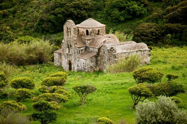 Ο βυζαντινός ναός του Αγίου Μάμα ή Θεοσκέπαστης Ποταμιάς