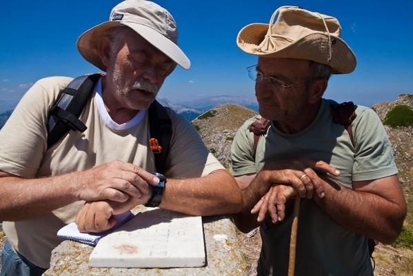 Με τον Πέτρο Μπελετσιώτη στην κορυφή Αστραπή ή Χατζηπέτρος στα 1.900μ.