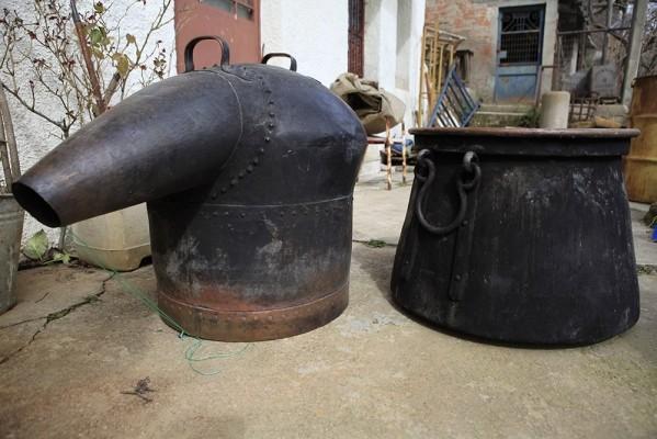 Χάλκινος άμβυκας απόσταξης 19ου αιώνα