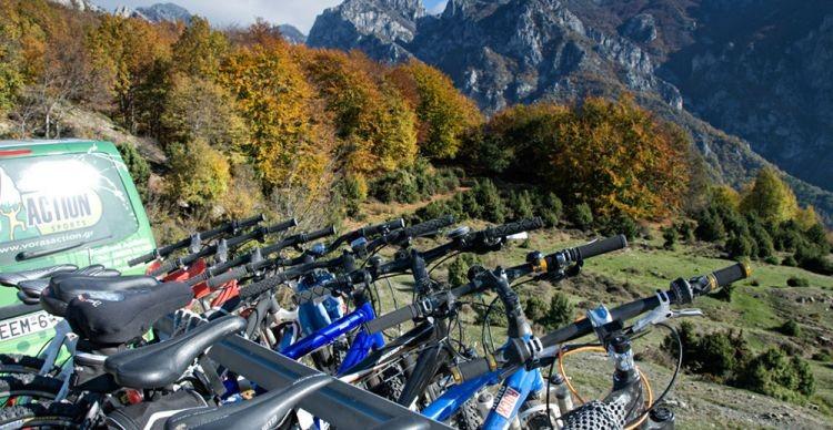 Ορεινή Αλμωπία με ποδήλατα