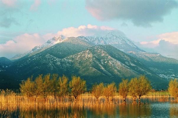 Το περιβάλλον της λίμνης.