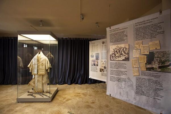 Εσωτερική όψη του Μουσείου του Επισκόπου Σαλώνων Ησαΐα