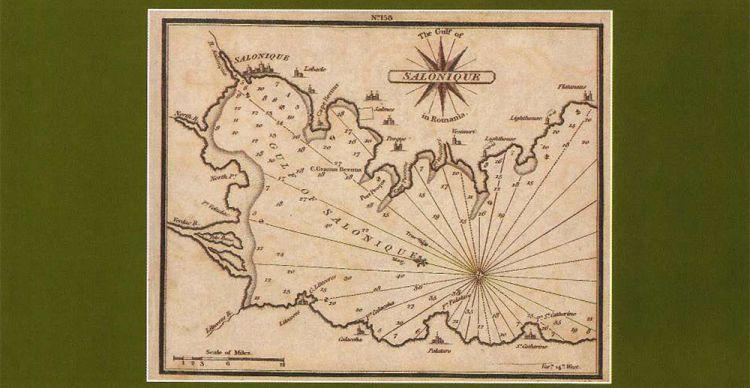 Παλαιοί χάρτες Θεσσαλονίκης