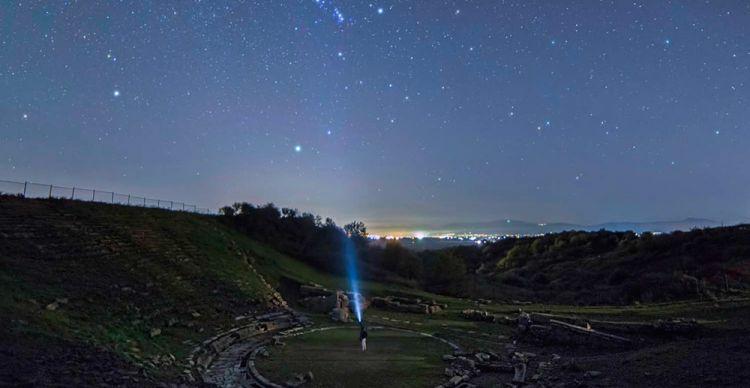 Αστροφωτογραφίζοντας τoν αστερισμό του Ωρίωνα